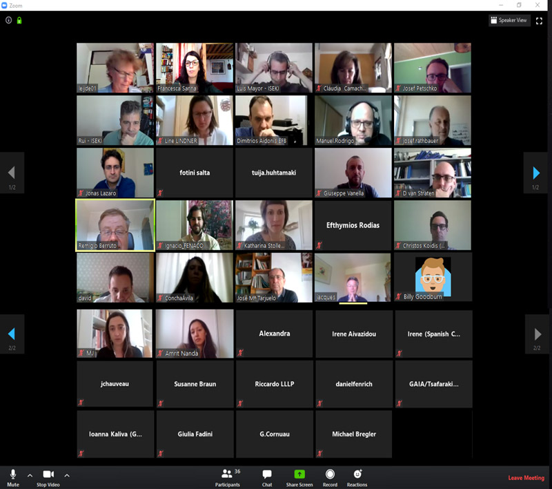 1st FIELDS virtual meeting