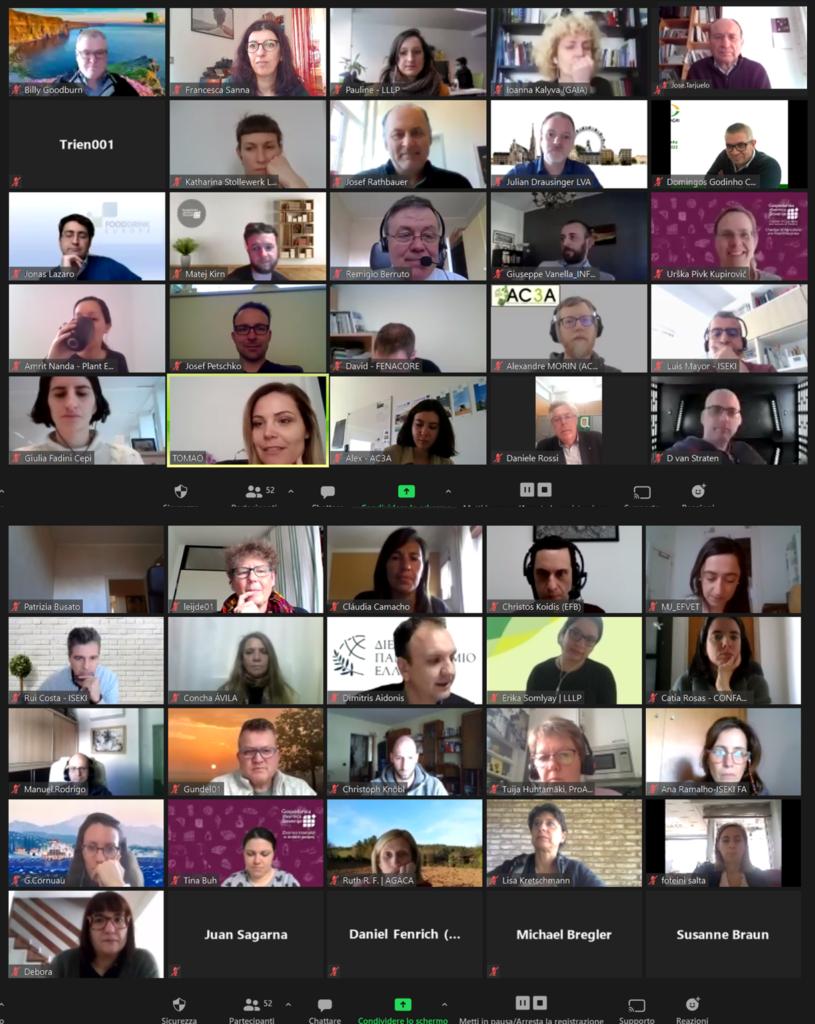 4th Virtual Partnering meeting